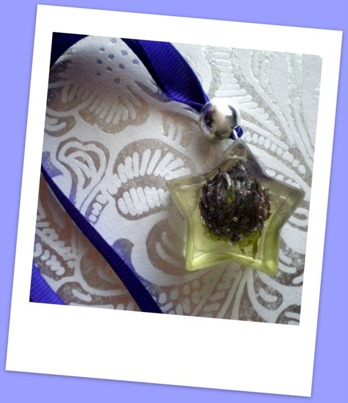 Adorno para el coche hecho por mí con flor natural y resina. Entra en www.facebook.com/artesania.nahia y dale a me gusta para estar siempre informad@