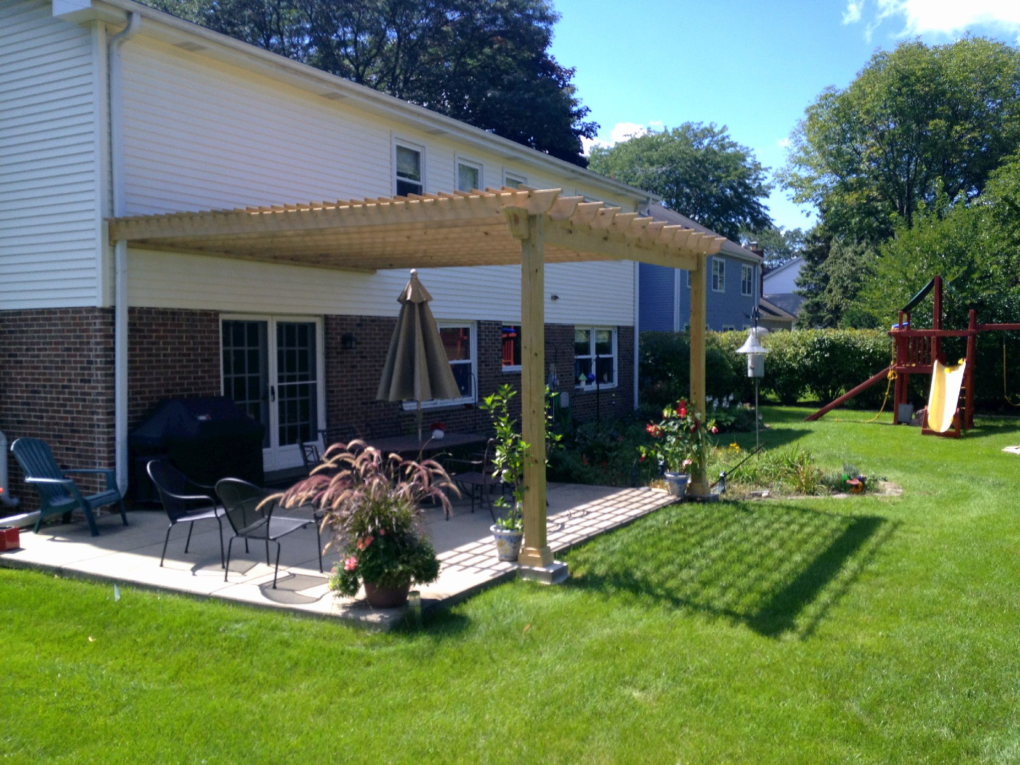 Hoffman Estates Il Pergola Builder Chicago Area Pergola Builder