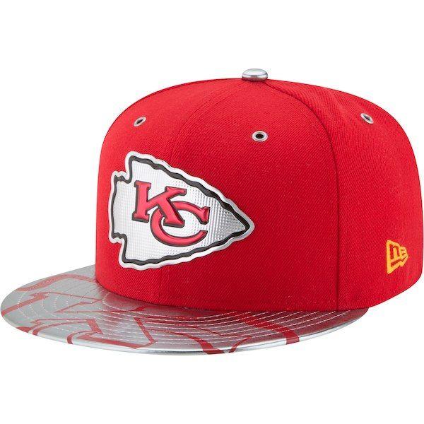 1f0cf0b5d Kansas City Chiefs New Era NFL Spotlight 59FIFTY Fitted Hat - Red   KansasCityChiefs