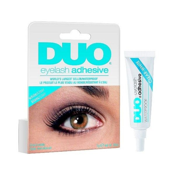 Duo Eyelash Adhesive Clear 549 Liked On Polyvore Featuring
