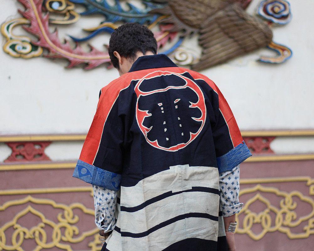Vintage Edo Hikeshi Jacket, Ichiban 05 | Kiriko Made | www.kirikomade.com…