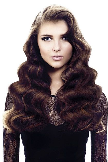 Those Waves Prom Hair Princessproject Fashion Veronicalake