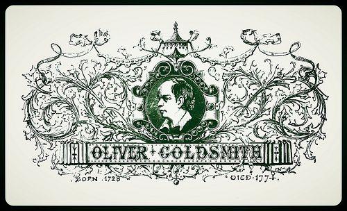 Oliver Goldsmith, via CharmaineZoe