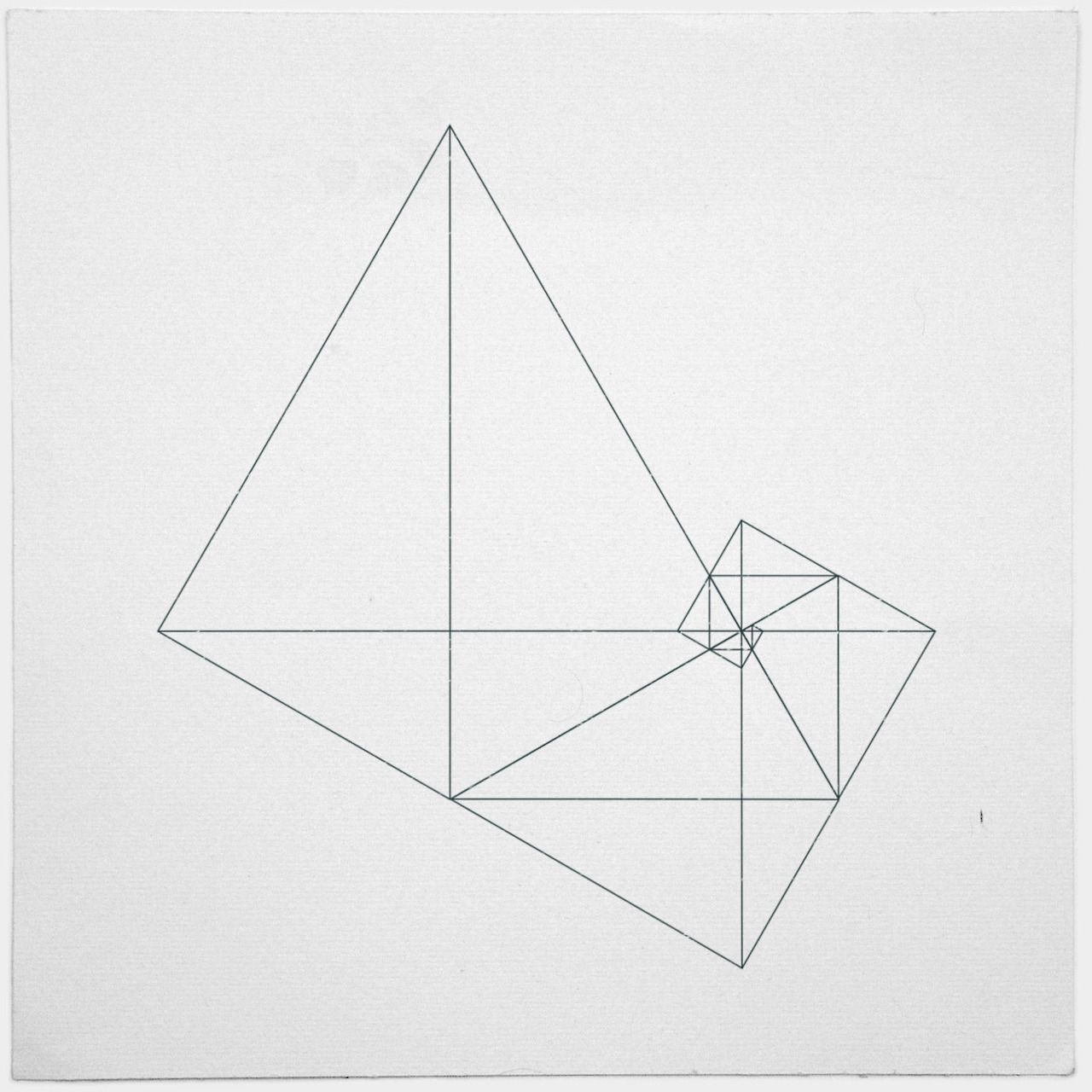The beauty is already THERE, in the way geometry works. It
