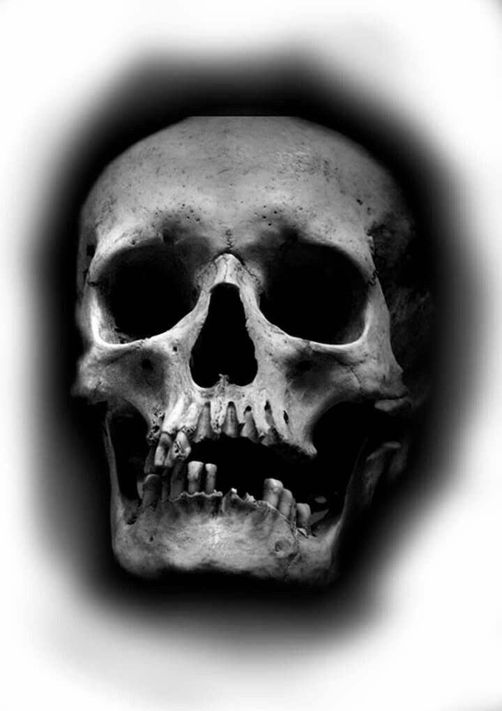 It is a graphic of Playful Skull Drawing Black And White