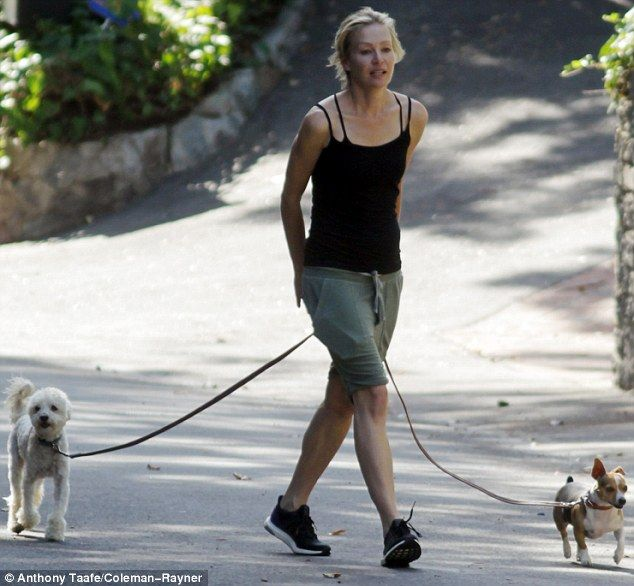Portia De Rossi Reveals Fit Figure On A Relaxing Walk With Her Dogs Portia De Rossi Pet Gear Dogs Of The World