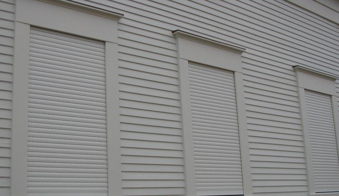 Security Shutters For Windows Hurricane Blinds Rolling