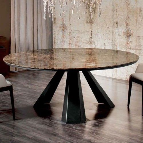 Eliot Round Marble Dining Tables