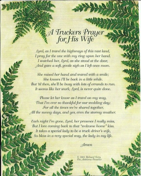 Truckers Prayer by Jessica Griffith Mahler... (Photo Only) | True ...