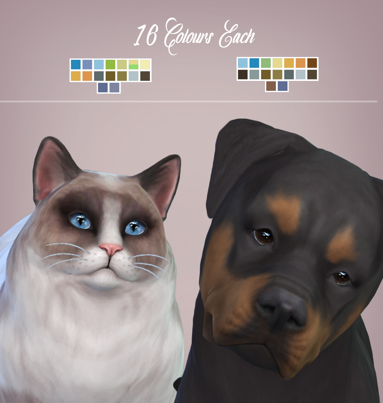 Lana CC Finds - Real Eyes - Cats & Dogs | s4cc | Sims pets
