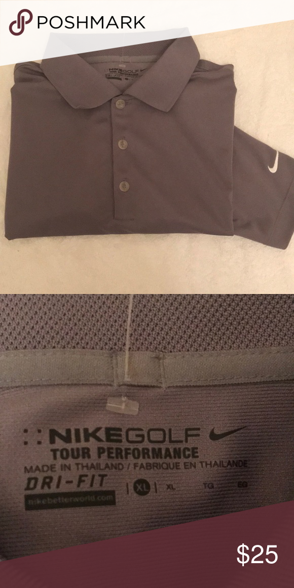 55a25bfff LIKE NEW NIKE dri-fit golf shirt NIKE GOLF TOUR PERFORMANCE short sleeve  polo shirt. Stay cool and stylish in this perfect piece. Looks brand new!