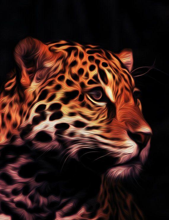 Jaguar Modern Jaguar Wall Art Jaguar Photography Etsy Abstract Decor Wall Art Majestic Animals