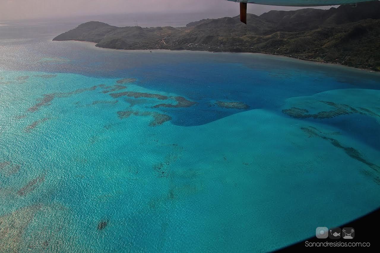 La Maravillosa Barrera De Coral De La Isla De Providencia Colombia Fantastica Isla De Providencia Barrera De Coral Islas