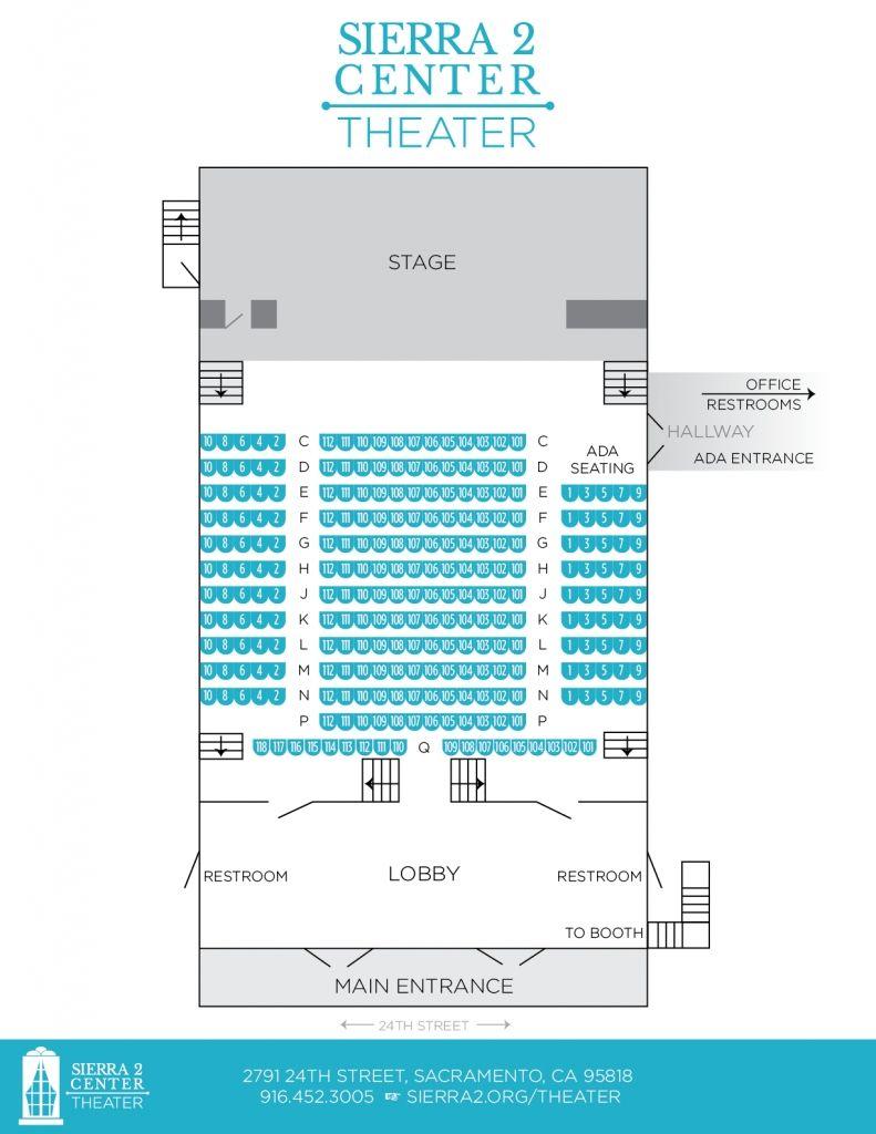 Elegant Sacramento Community Center Theater Di 2020