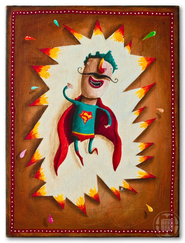 SuperMan* by Robert Romanowicz, via Behance