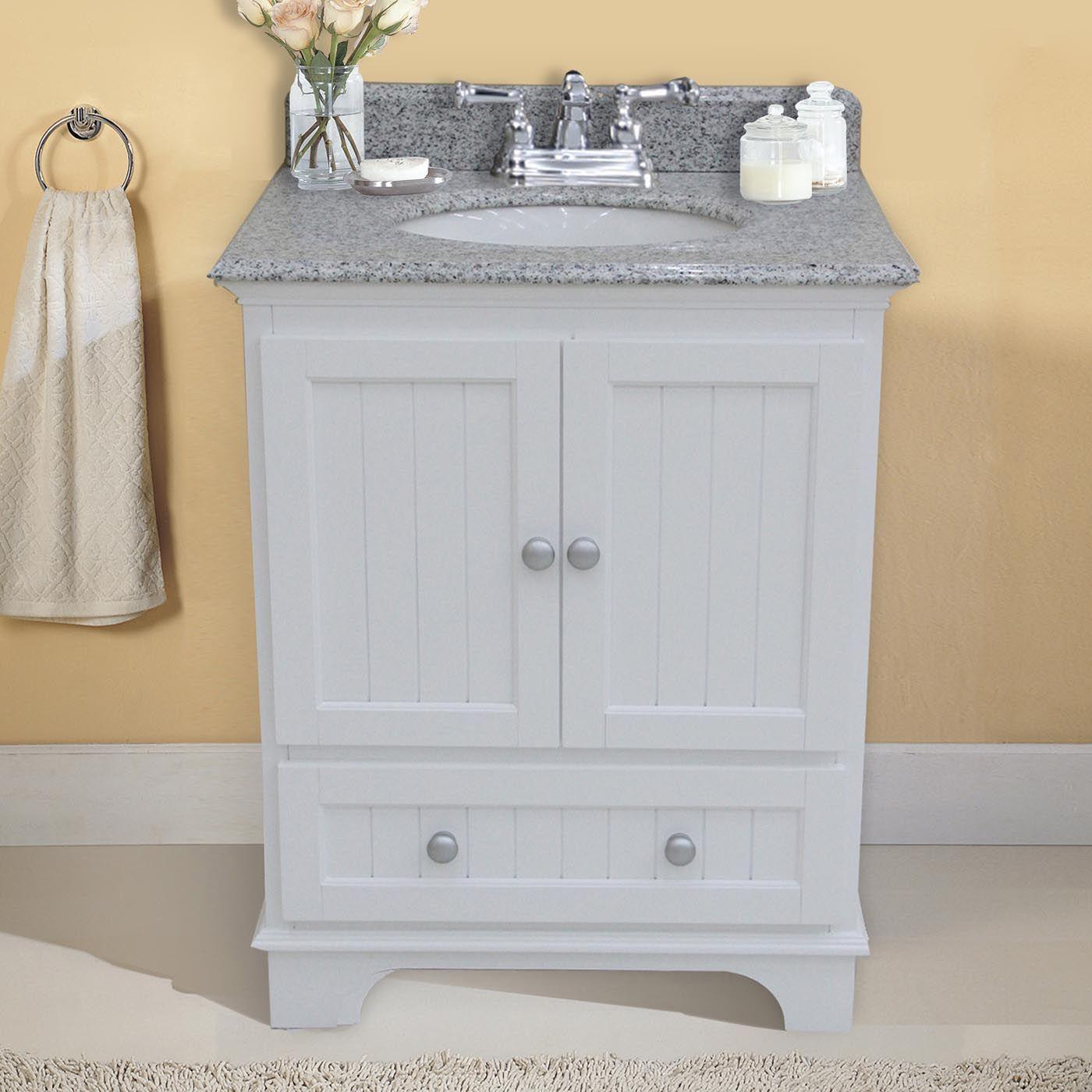 Laa Products Wf6217 28 Anica 28 In Single Sink Wood Bathroom