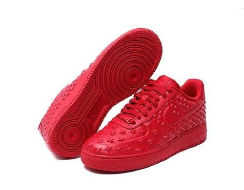 cheaper 59051 0f44a Nike Air Force 1 LV8 VT Low Independence Day Star Pack Pack Gym Red Couples  Shoes 789104 600 - Air Force 1