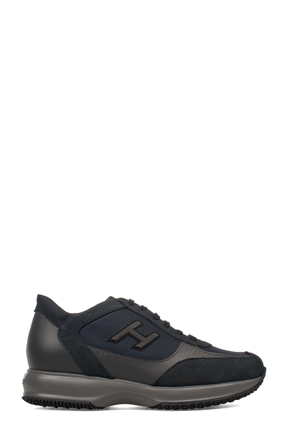 1e981380b78 HOGAN BLUE-GRAY NEW INTERACTIVE SUEDE SNEAKERS. #hogan #shoes ...