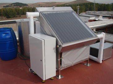 Un aire acondicionado que funciona con energía solar