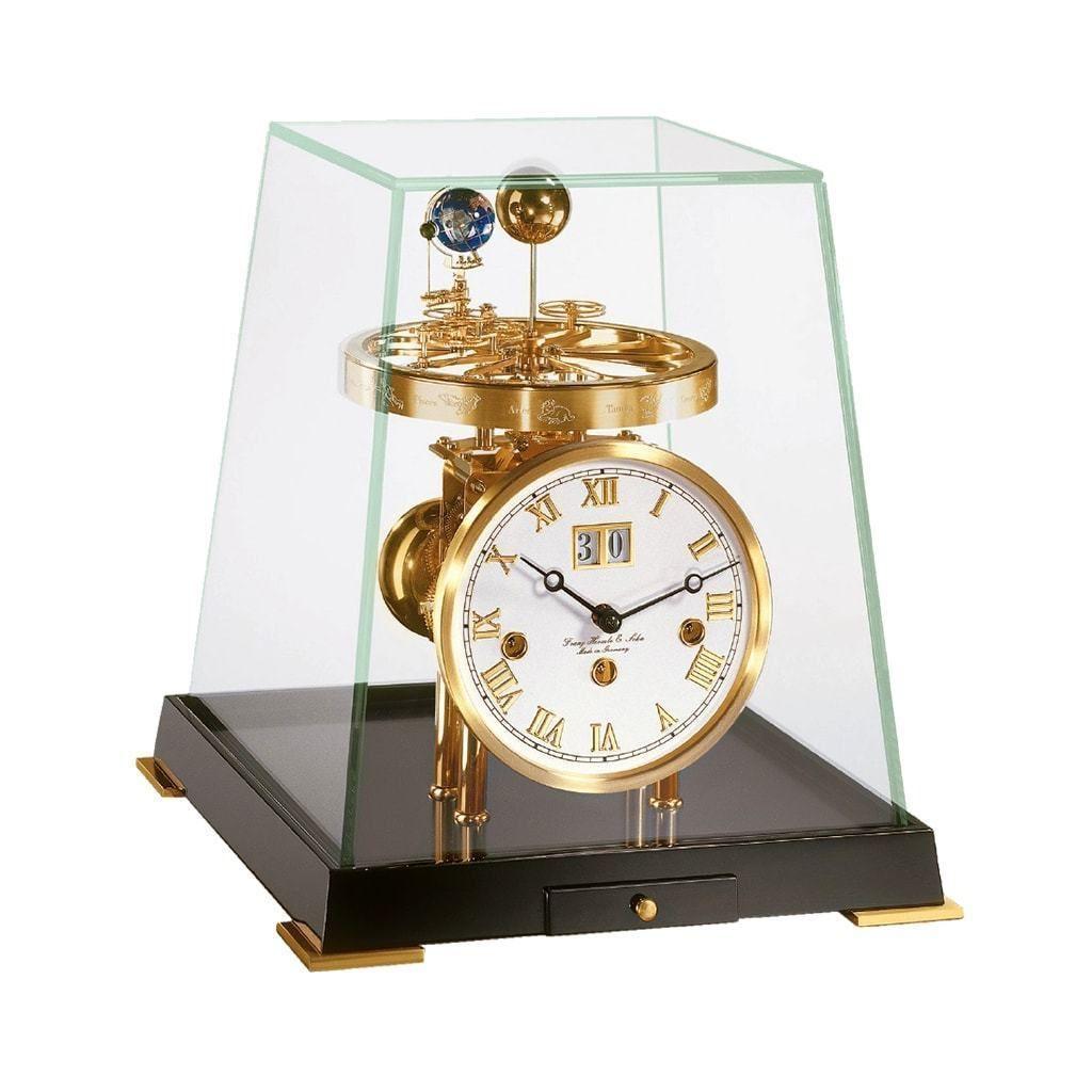 Order Hermle Tellurium V Clock Online Modern Design Astronomical Clocks From Timely Timeless Authorized Franz Hermle D Clock Clock Repair Mechanical Clock