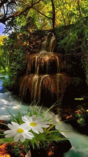 Tugi On With Images Beautiful Nature Waterfall Beautiful Landscapes