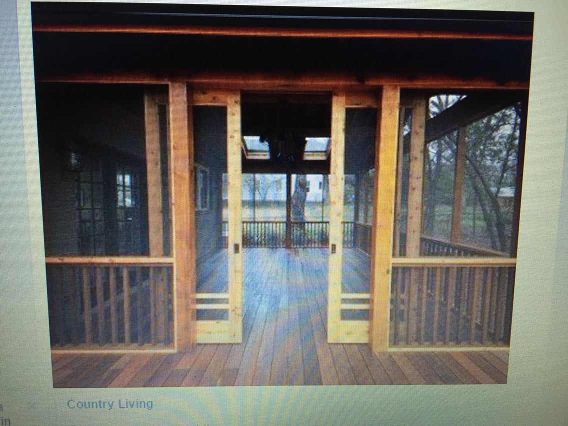 porch screened pin rustic screen garage add ceiling on and french blue doors in make remodel for to