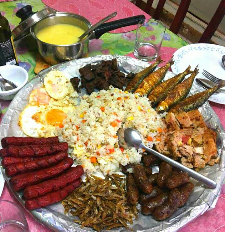 Filipino Breakfast Silog Meals Filipino Breakfast Mini Breakfast Food