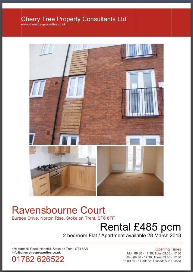 Ravensbourne Court Norton Heights 485 Pcm For A 2 Bedroom