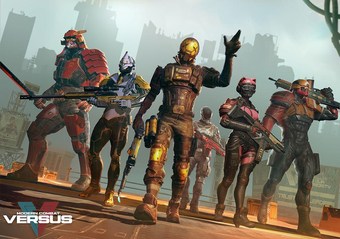 Modern Combat Versus Character Team Art Dump Gameloft Versus Combat