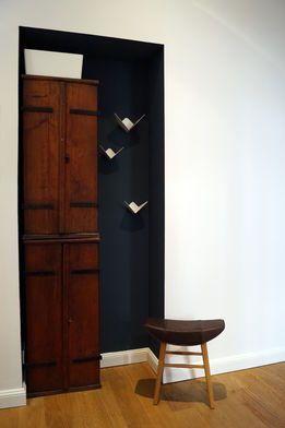 Eingangsbereich   Wandfarbe schwarz, Wandfarbe, Dunkle wände