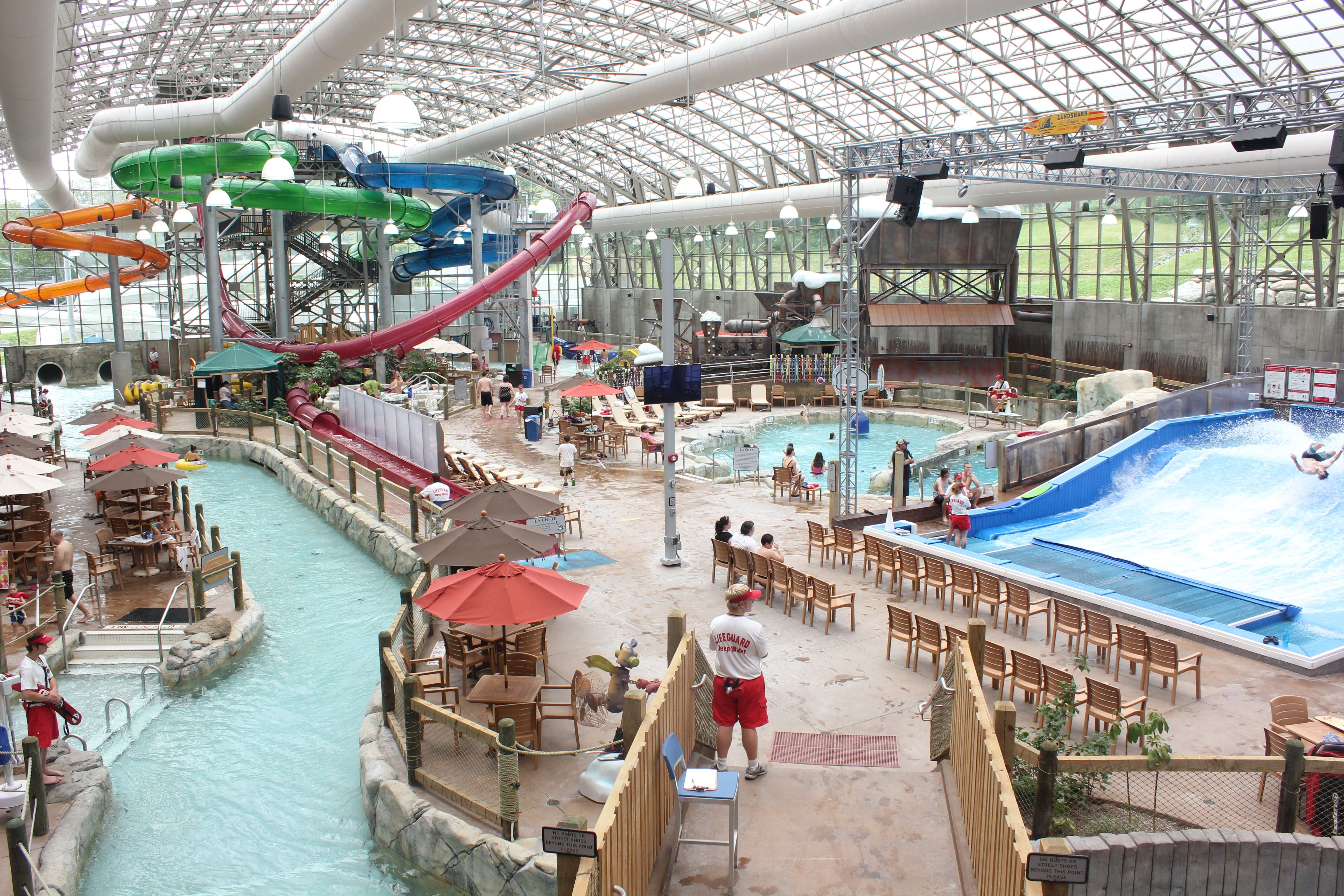 a summer visit to jay peak resort's pump house indoor waterpark