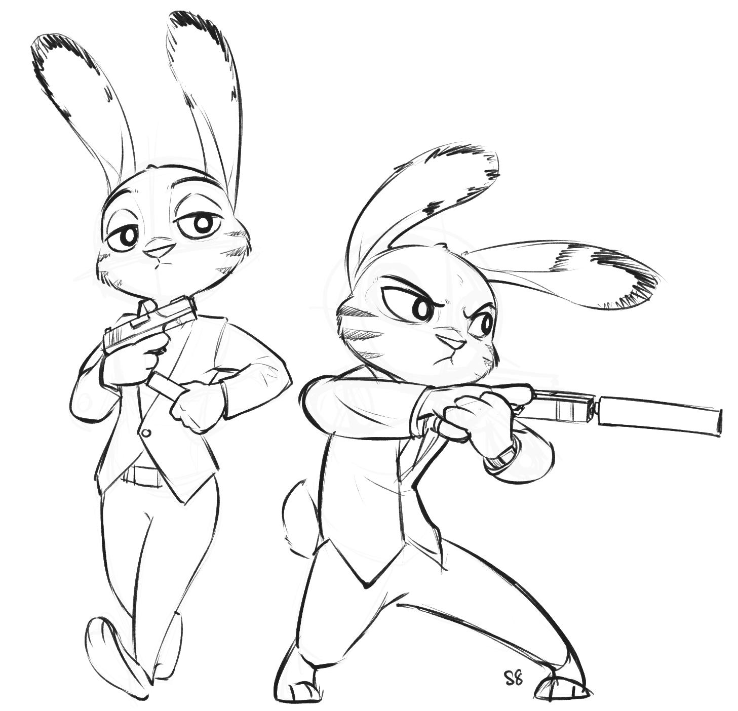 Judy Hopps B