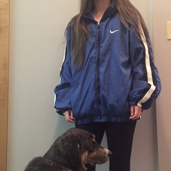 fashion styles new lower prices good out x Vintage Nike windbreaker From the 80s! Oversized windbreaker ...