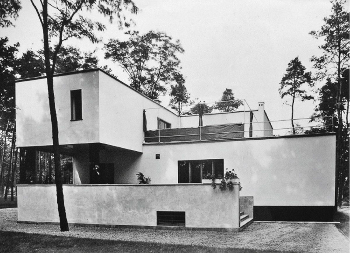 1925 1926 gropius 39 house in dessau walter gropius ernst neufert 1200 867 arch design. Black Bedroom Furniture Sets. Home Design Ideas