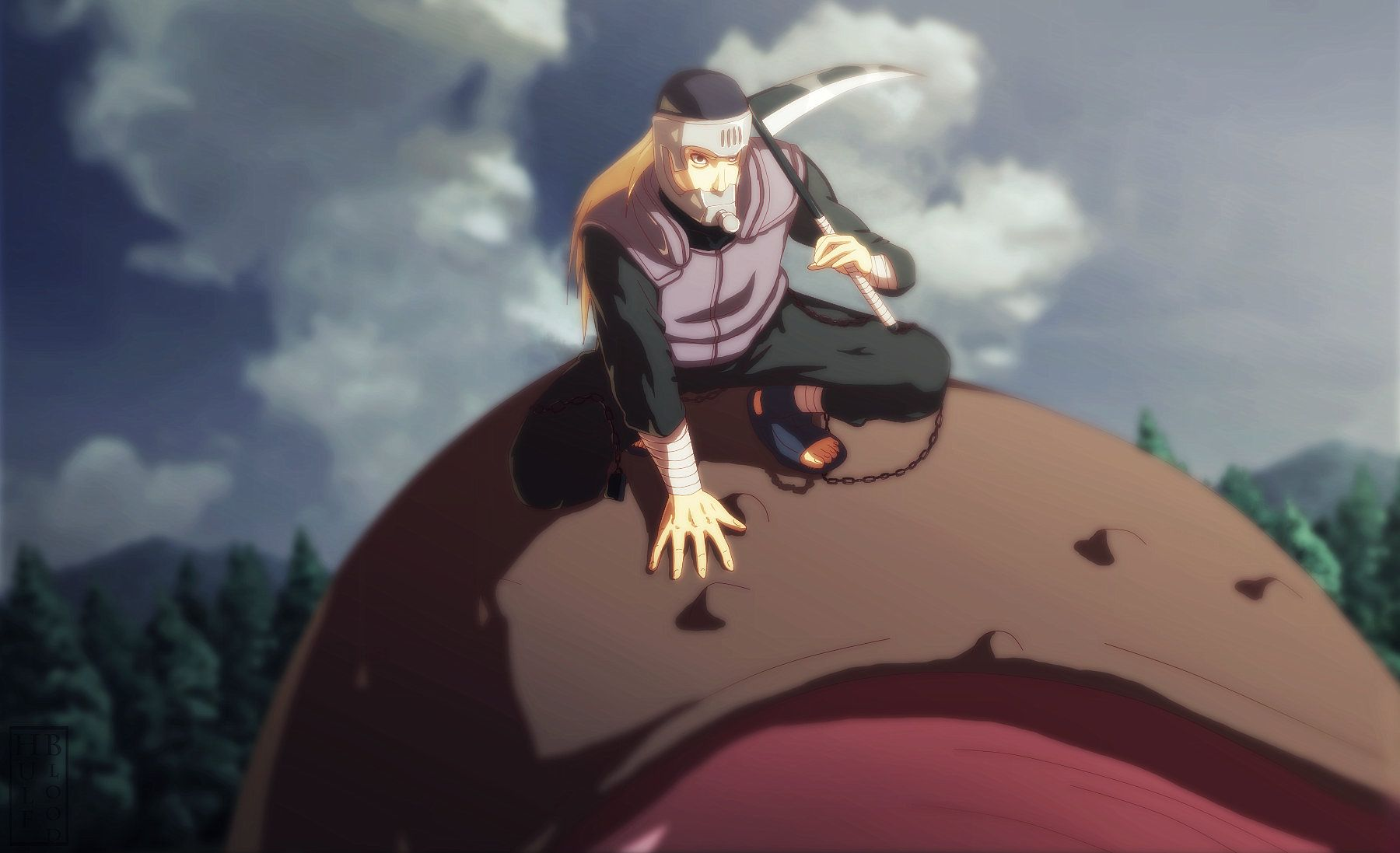 """""""A man's life is not over when he dies. It is over when he loses his convictions."""" Hanzou; Mifune vs Hanzou – Naruto: Shippūden E272 