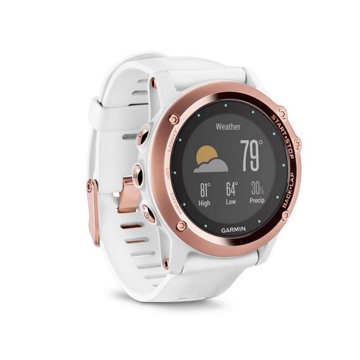 Garmin fenix 3 Rose Gold GPS Fitness Watch
