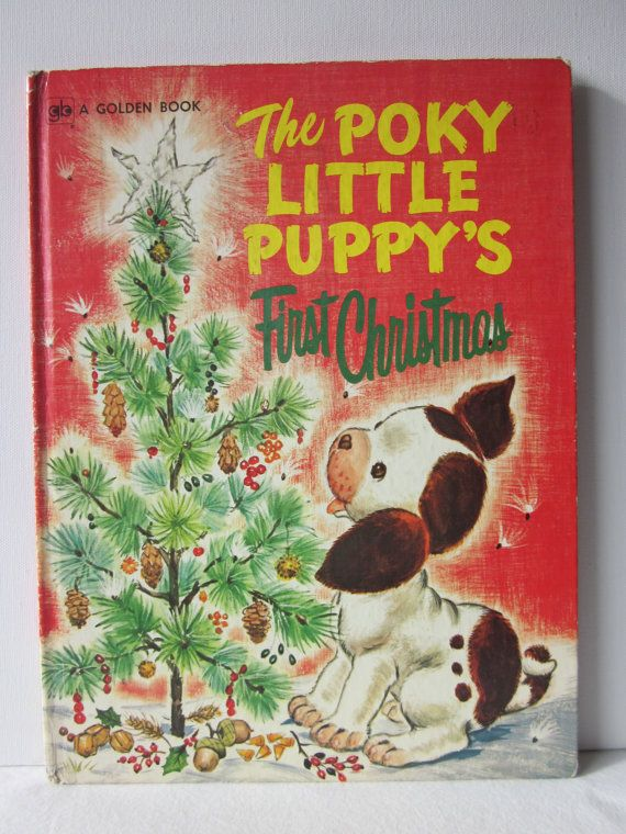 CLEARANCE  The Poky Little Puppy's First by NostalgiaMama on Etsy, $3.00