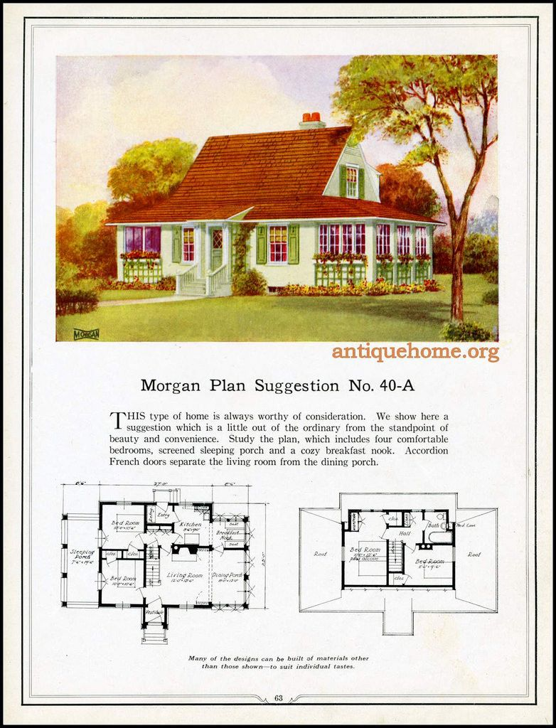 Morgan House Plan Suggestions Building With Assurance Vintage House Plans Morgan House House Plans