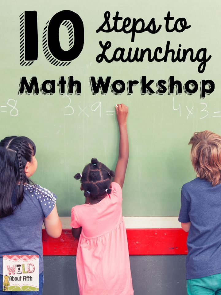 Launching Math Workshop Step By Step Must Have Resources