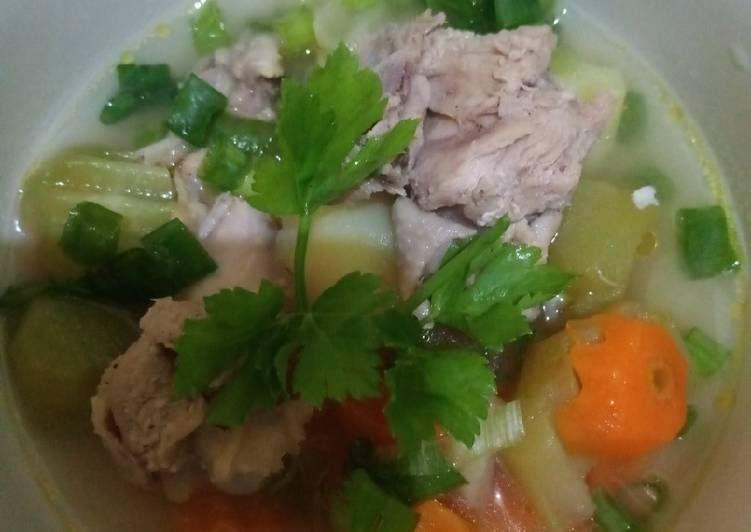 Resep Sup Ayam Labu Siam Oleh Desi Chan Resep Sup Ayam Resep Sup Labu