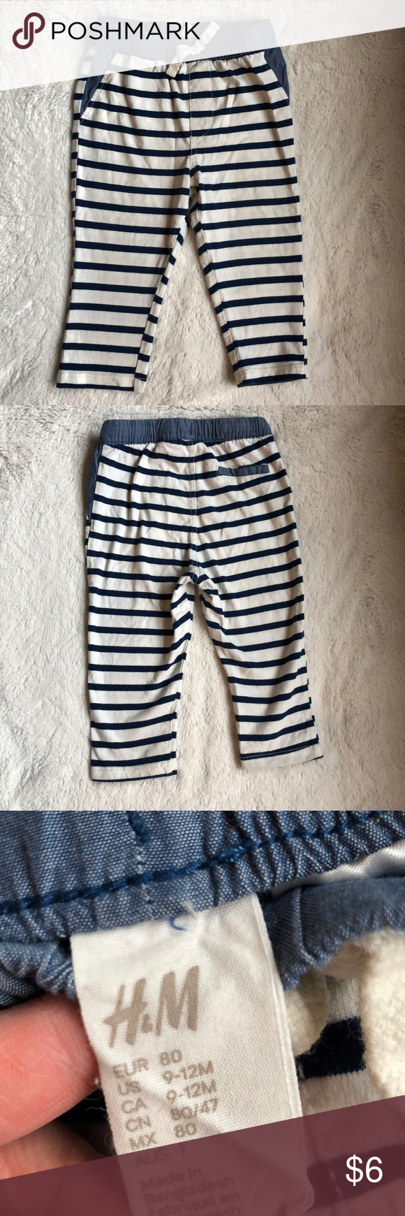 Excellent Condition 9-12 Months Nice Baby Boy Trousers
