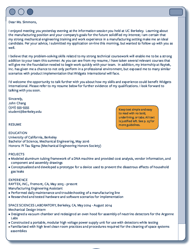 Sample Email Resume - http://resumesdesign.com/sample-email-resume ...