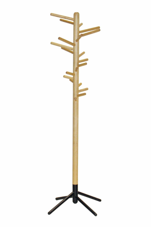 perchero de pie moderno en madera 160 by anna maija jaatinen - Perchero De Madera
