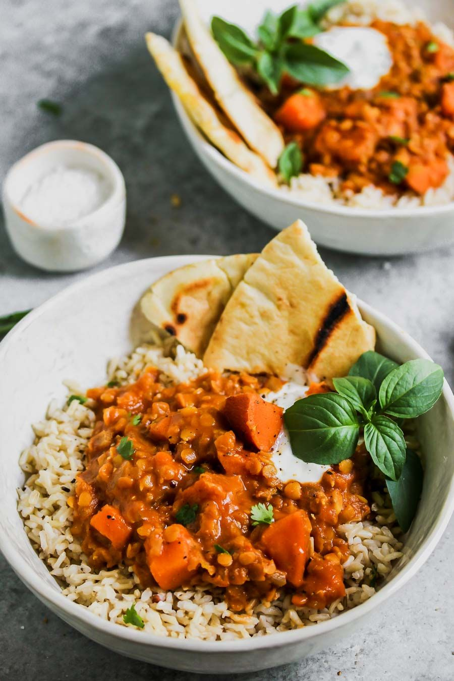 Slow Cooker Sweet Potato And Lentil Tikka Masala Vegan