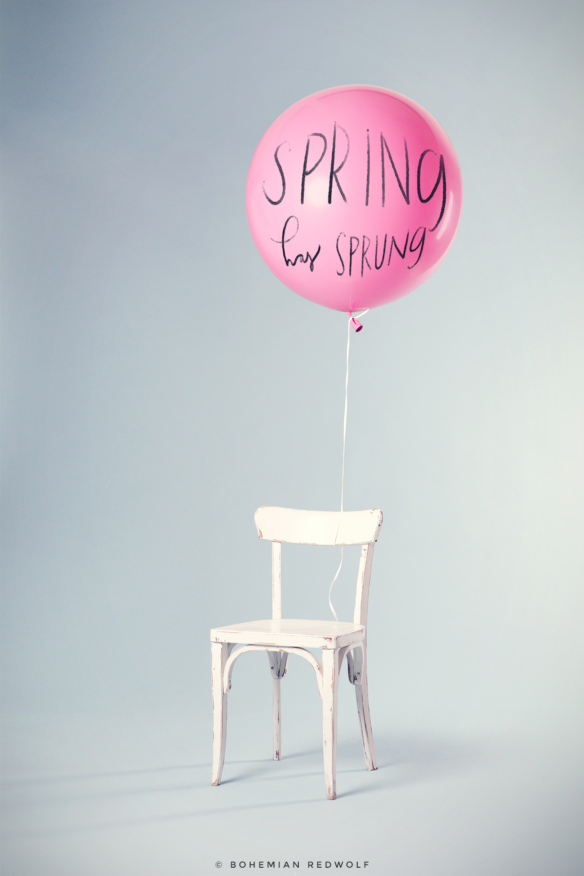 Spring Hand Lettering by Bohemian Redwolf