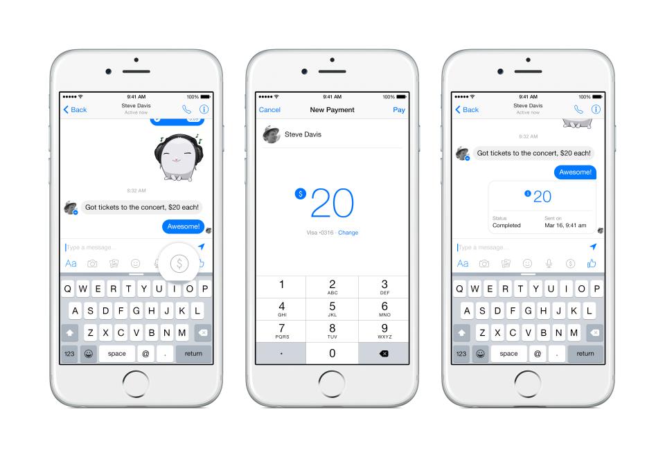 Ya puedes enviar dinero con Facebook Messenger | RevoluTegPlus