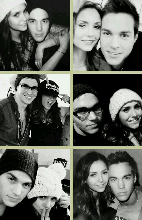 chris wood and nina dobrev dating damon