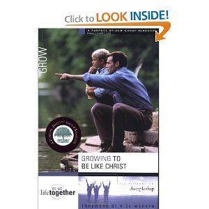 Growing to Be Like Christ: Brett Eastman,Dee Eastman,Todd Wendorff,Denise Wendorff,Karen Lee-Thorp: 9780310246749: Amazon.com: Books
