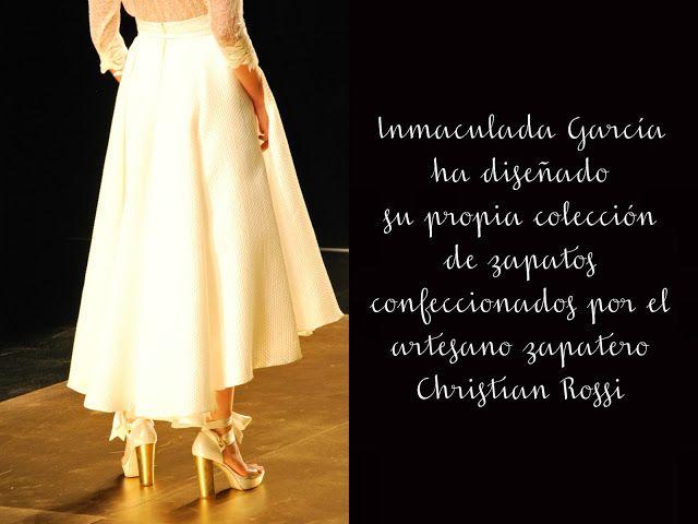 Desfile Inmaculada García - Barcelona Bridal Week | Sweet Bodas