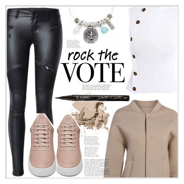 """""""Rock the Vote in Style"""" by mycherryblossom ❤ liked on Polyvore featuring Bobbi Brown Cosmetics, Filling Pieces and Smith & Cult"""